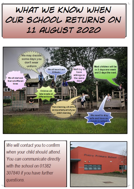 Information for August 2020